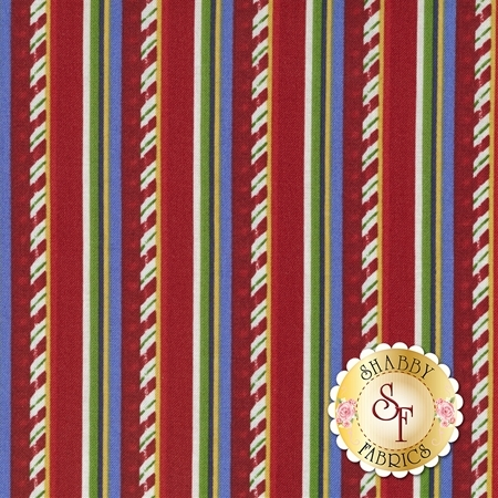Santa Claus Is Coming To Town 21696-24 by Northcott Fabrics