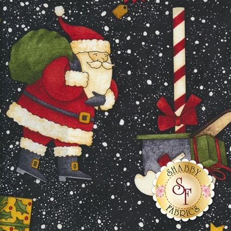 Santa's Big Night 67557-971 by Wilmington Prints- REM #2