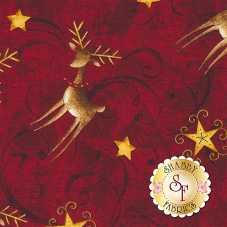 Santa's Big Night 67563-325 by Wilmington Prints