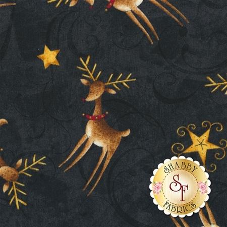 Santa's Big Night 67563-925 by Debbie Mumm for Wilmington Prints
