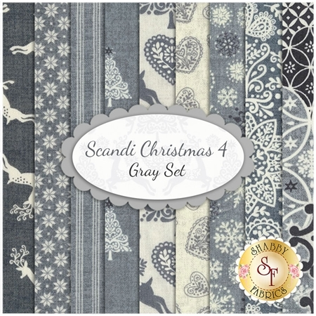Scandi 4  9 FQ Set - Gray Set by Andover Fabrics