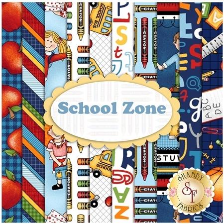 School Zone  Yardage by Studio E Fabrics