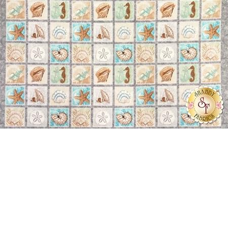 Seaside Dreams 3431P-90 Panel by Sharla Fults for Studio E Fabrics