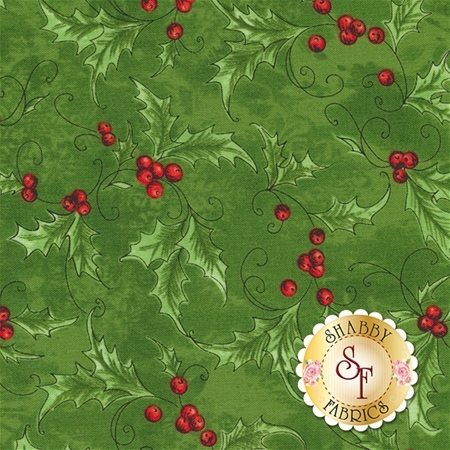 Seasons Greetings 40290-1 by Whistler Studios for Windham Fabrics