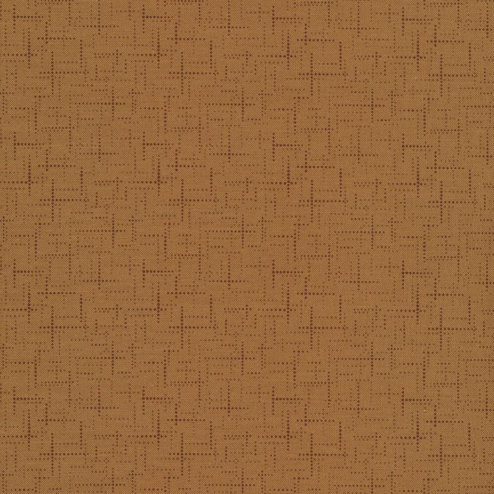 Tonal brown texture print | Shabby Fabrics
