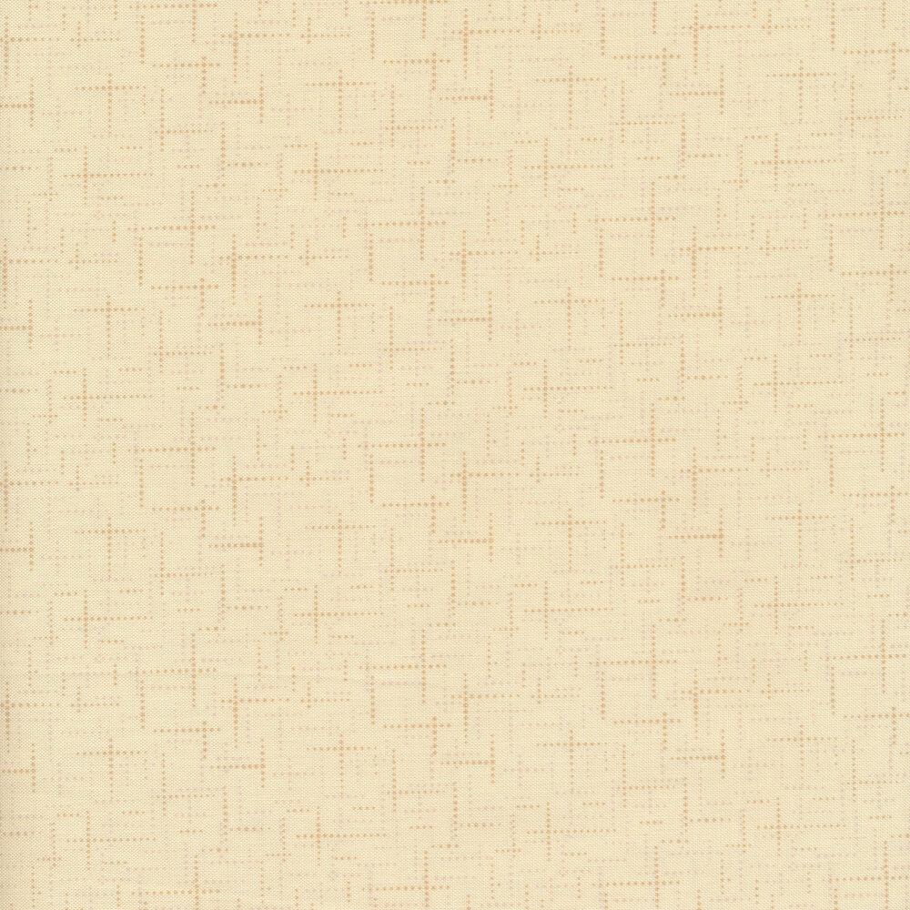 Tonal cream texture print | Shabby Fabrics