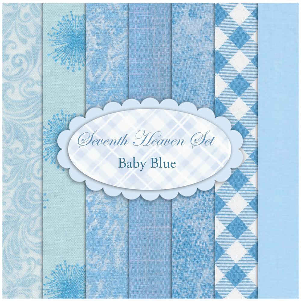 Seventh Heaven 7 FQ Set - Baby Blue