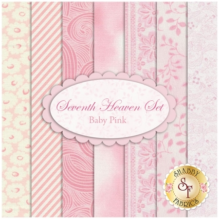 Seventh Heaven 7 FQ Set - Baby Pink