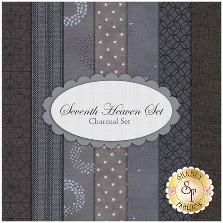 Seventh Heaven 7 FQ Set - Charcoal