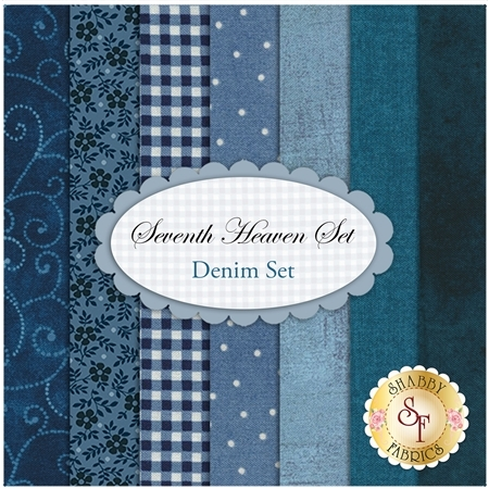 Seventh Heaven 7 FQ Set - Denim Blue