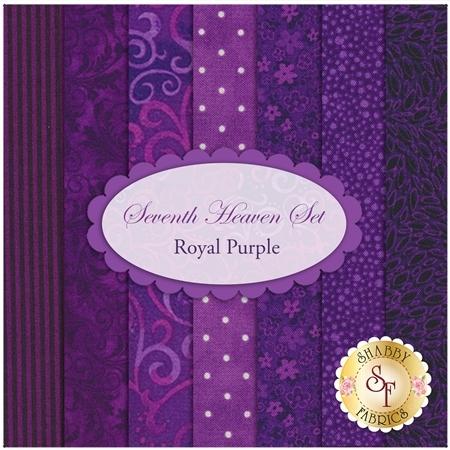 Seventh Heaven 7 FQ Set - Royal Purple