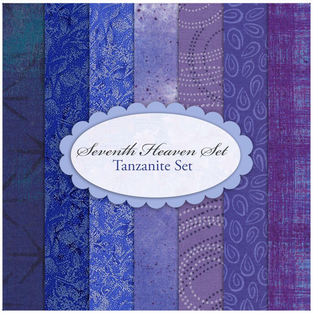 Seventh Heaven 7 FQ Set - Tanzanite from Shabby Fabrics