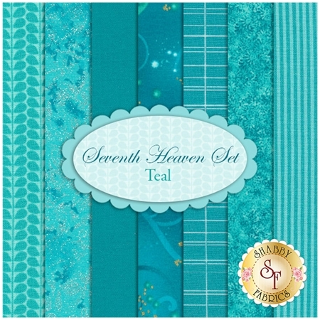 Seventh Heaven 7 FQ Set - Teal