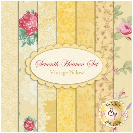Seventh Heaven 7 FQ Set - Vintage Yellow