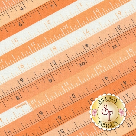 Sew & Sew 33182-12 Orange Fizz by Chloe's Closet for Moda Fabrics
