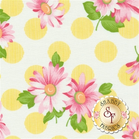 Sew & Sew 33184-13 Lemon Drop by Chloe's Closet for Moda Fabrics