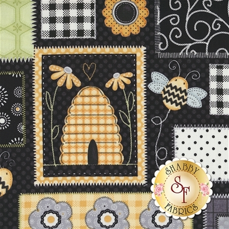 Sew Bee It 6641-94 by Shelly Comiskey for Henry Glass Fabrics REM