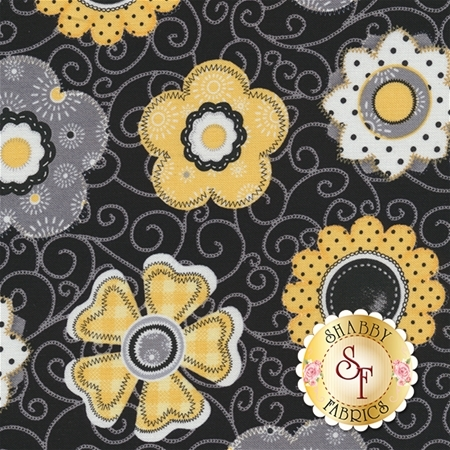 Sew Bee It 6642-99 by Shelly Comiskey for Henry Glass Fabrics