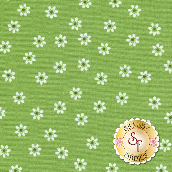 Sew Cherry 2 C5803-GREEN by Lori Holt for Riley Blake Designs