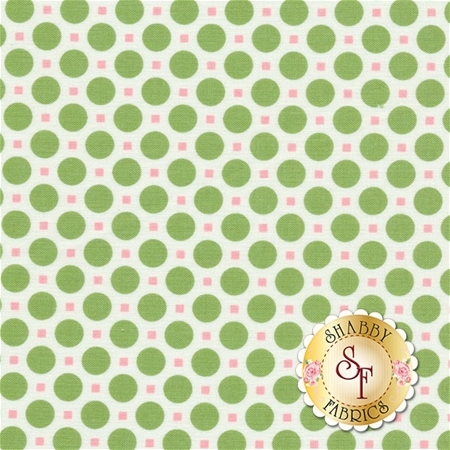 Sew Cherry 2 C5805-GREEN by Lori Holt for Riley Blake Designs