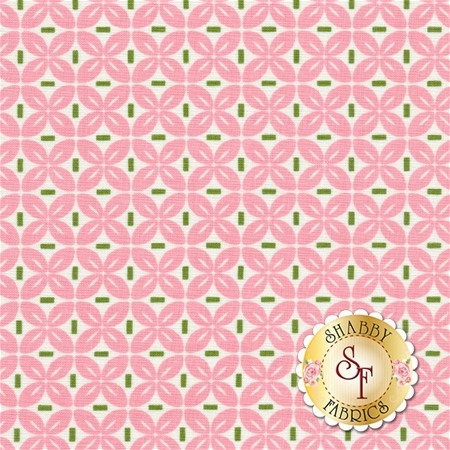 Sew Cherry 2 C5806-PINK by Lori Holt for Riley Blake Designs