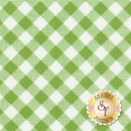 Sew Cherry 2 C5808-GREEN by Lori Holt for Riley Blake Designs