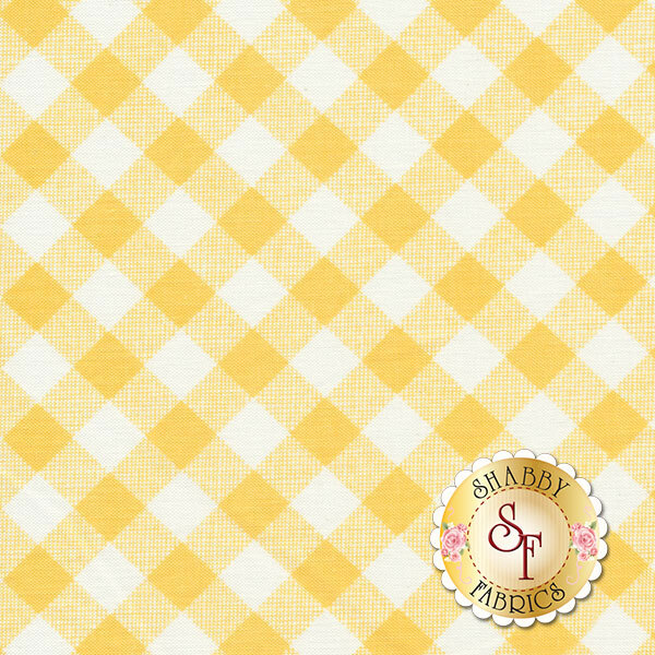 Sew Cherry 2 C5808-YELLOW by Lori Holt for Riley Blake Designs