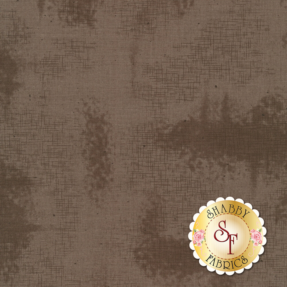 A basic charcoal fabric with crosshatching and mottling | Shabby Fabrics