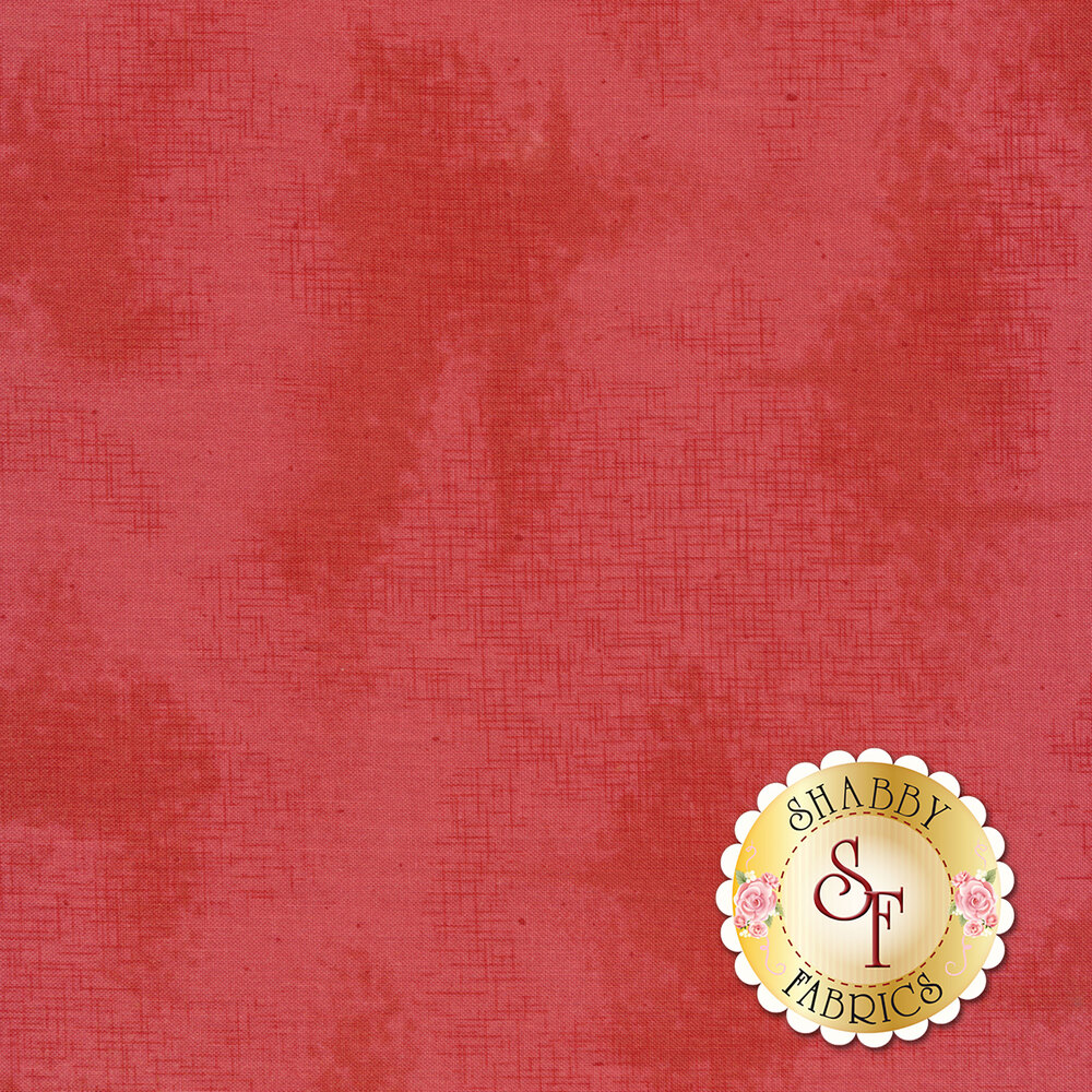 A basic pink fabric with crosshatching and mottling | Shabby Fabrics