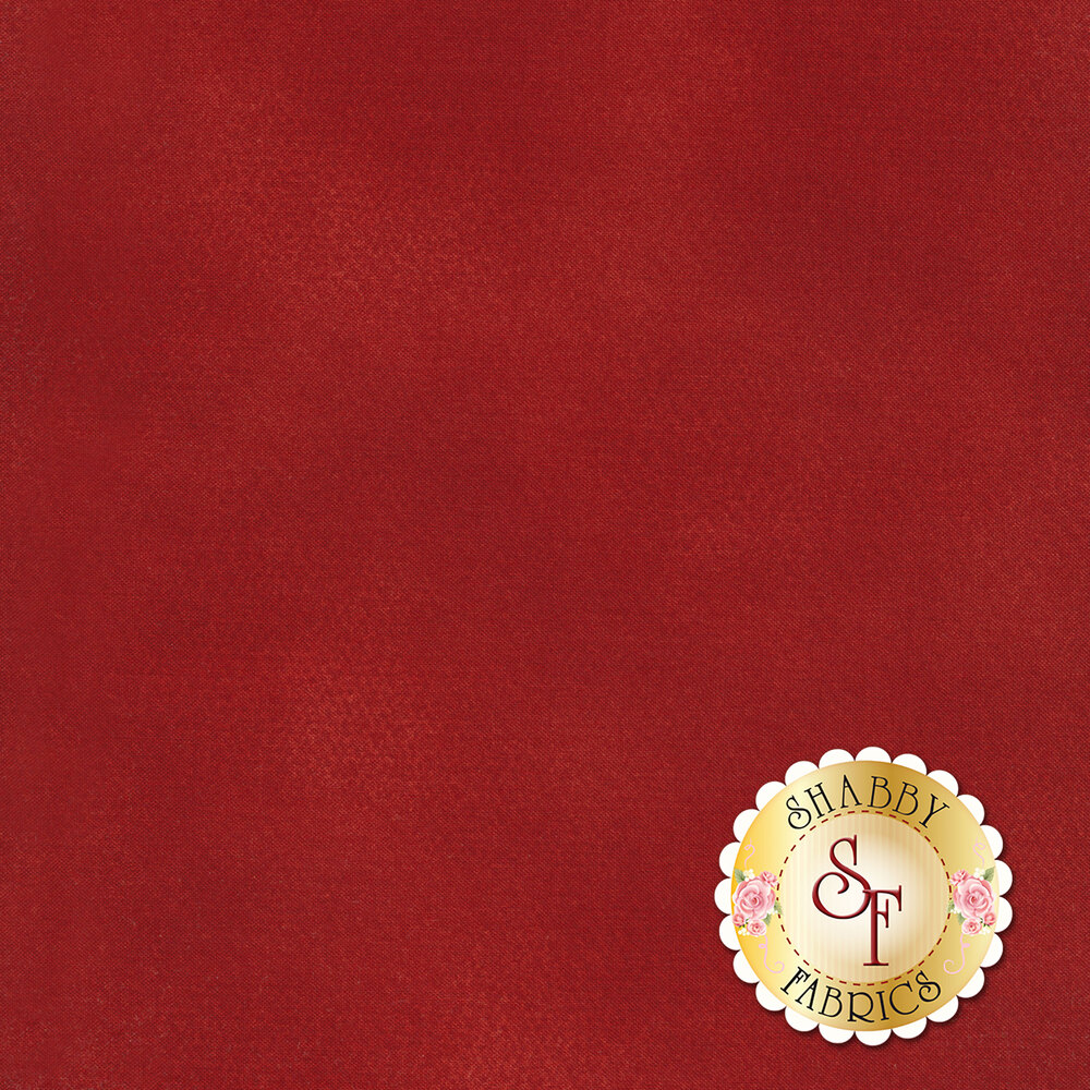 Red mottled fabric | Shabby Fabrics