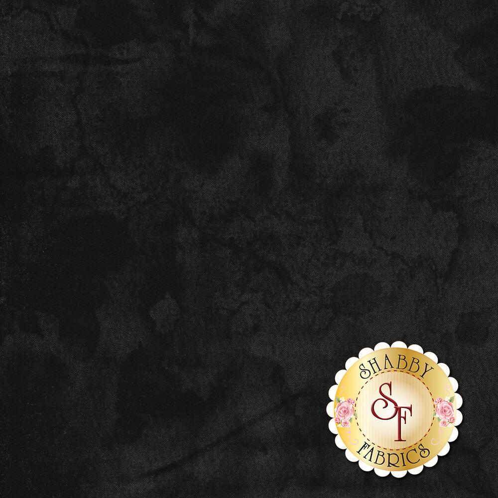 Tonal mottled black fabric | Shabby Fabrics