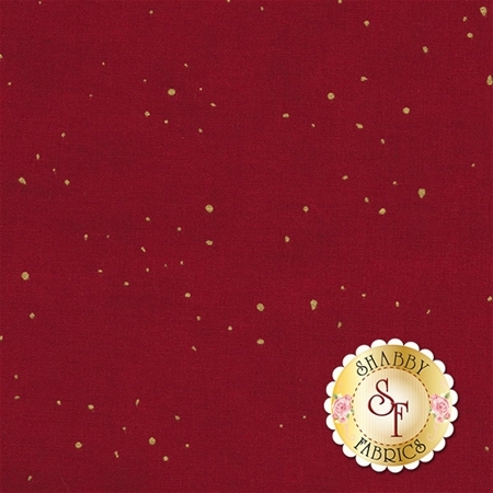 Shiny Objects Holiday Twinkle 2792-13 Flurries Cranberry by Flaurie & Finch for RJR Fabrics