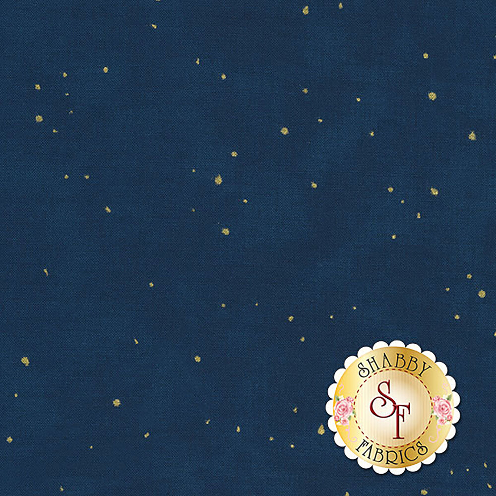 Shiny Objects Holiday Twinkle 2792-14 Flurries Midnight Sky by Flaurie & Finch for RJR Fabrics