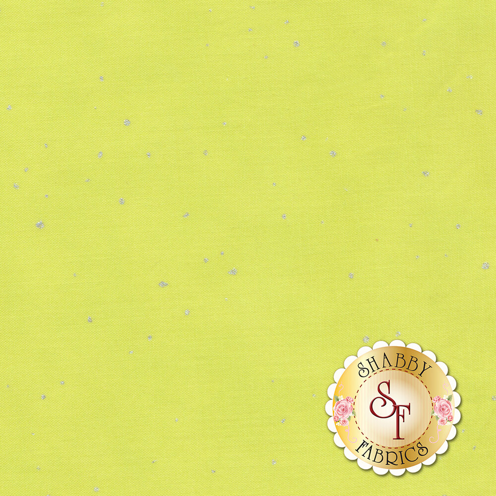 Shiny Objects Sweet Somethings 2792-19 Flurries Citrine by Flaurie & Finch for RJR Fabrics