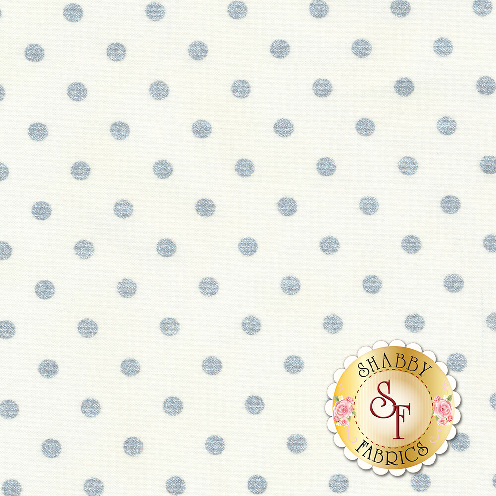Shiny Objects Sweet Somethings 3164-14 Spot On Vanilla by Flaurie & Finch for RJR Fabrics