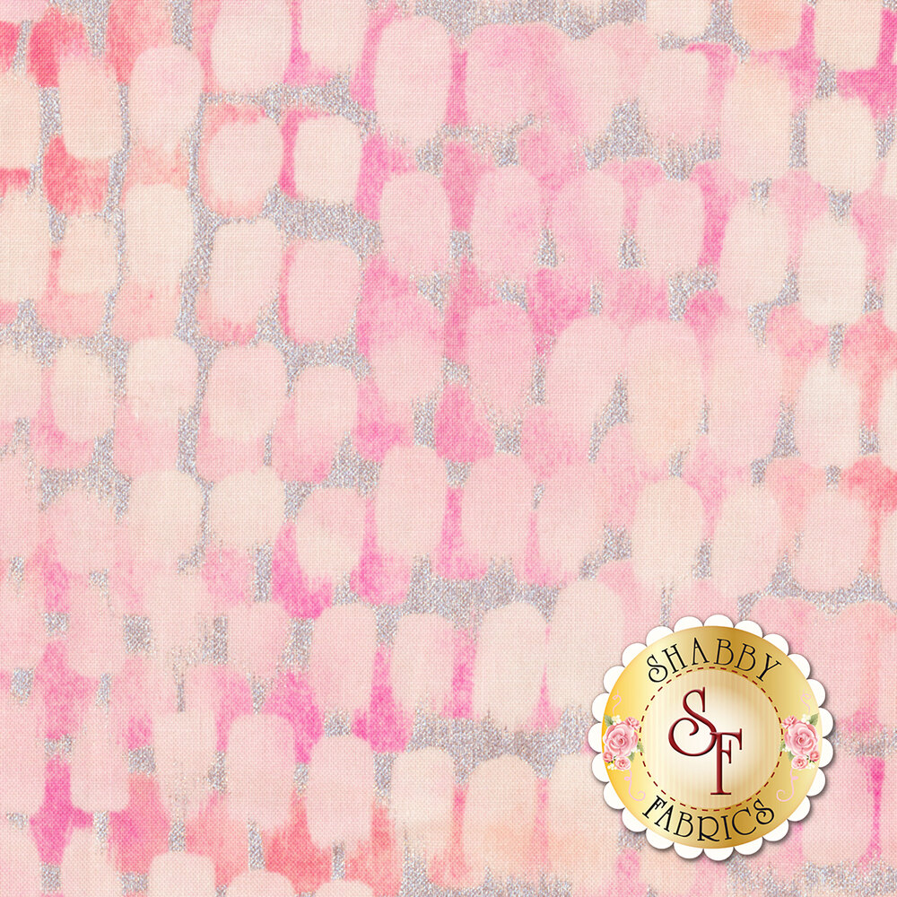 Shiny Objects Sweet Somethings 3533-2 Icing Strawberry Shake by Flaurie & Finch for RJR Fabrics