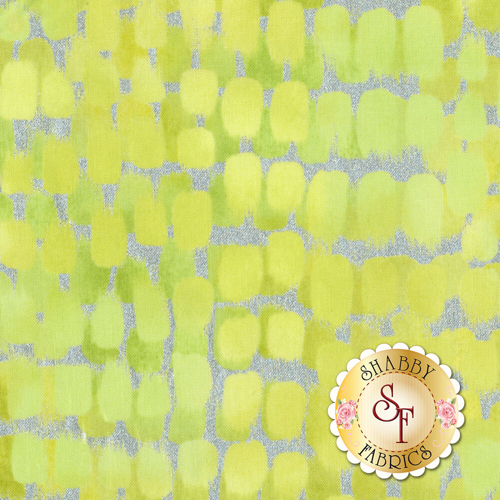 Shiny Objects Sweet Somethings 3533-3 Icing Citrine by Flaurie & Finch for RJR Fabrics