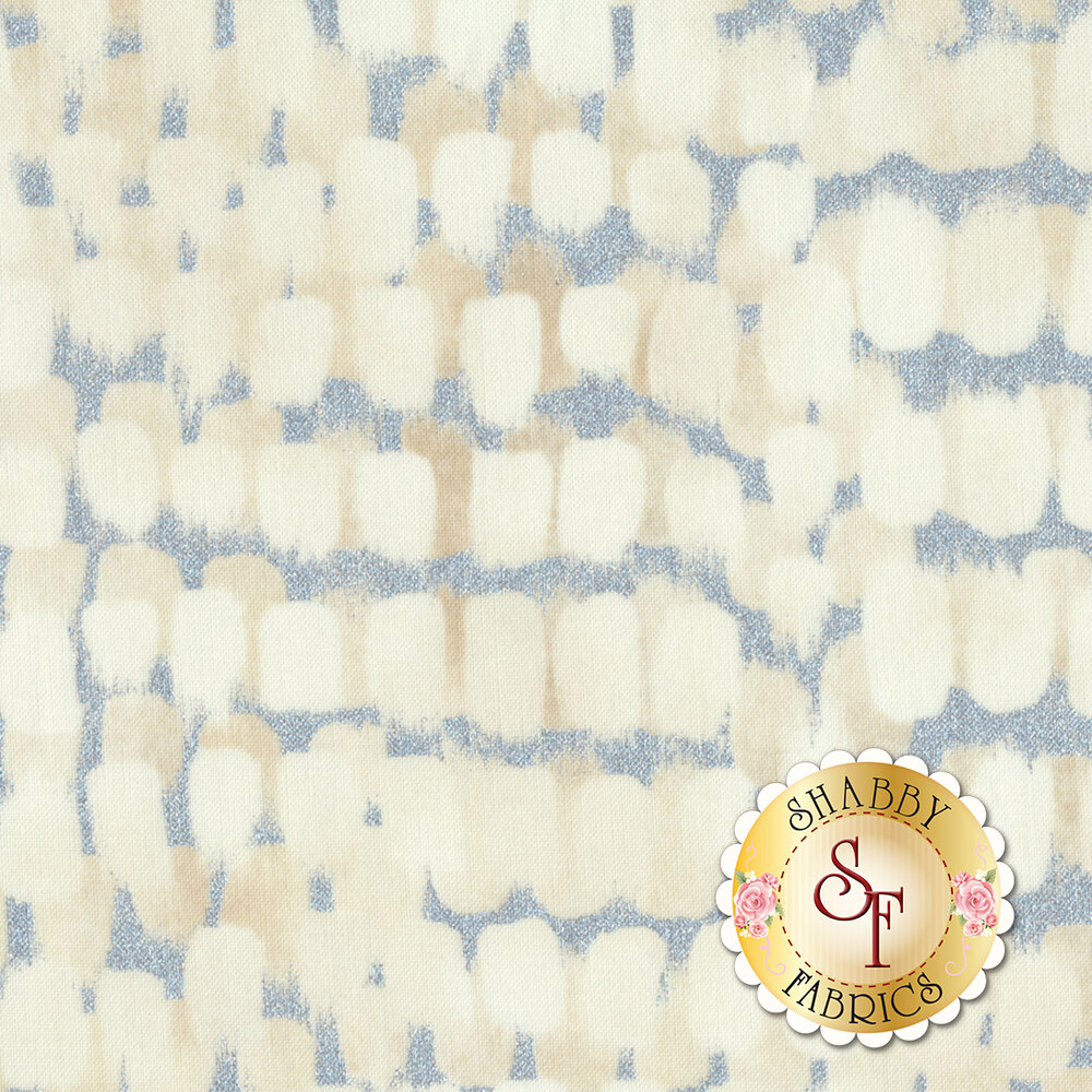 Shiny Objects Sweet Somethings 3533-4 Icing Vanilla by Flaurie & Finch for RJR Fabrics
