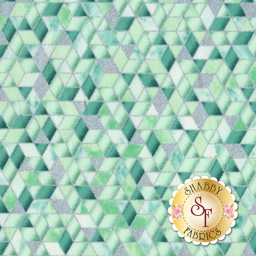 Shiny Objects Sweet Somethings 3534-2 Sugar Crystal Julep by Flaurie & Finch for RJR Fabrics