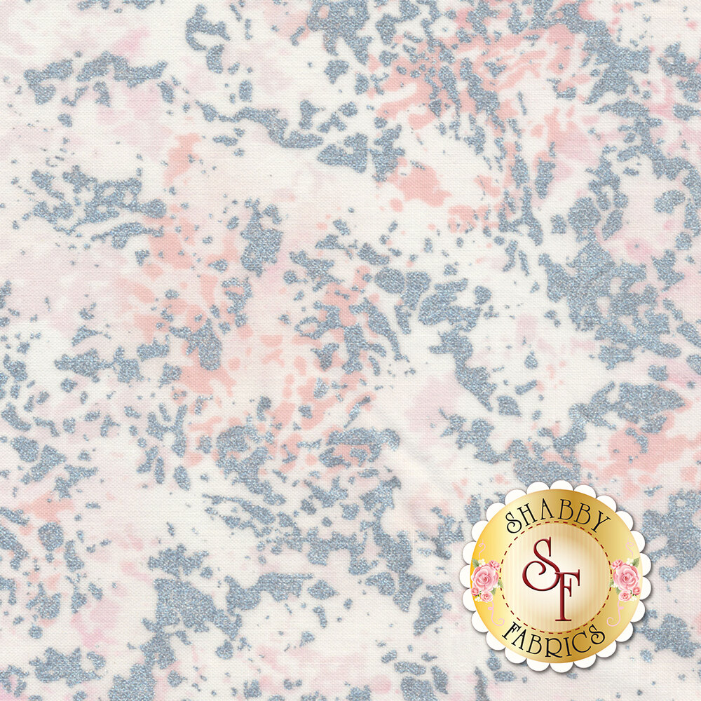 Shiny Objects Sweet Somethings 3536-1 Rock Candy Strawberry Shake by Flaurie & Finch for RJR Fabrics