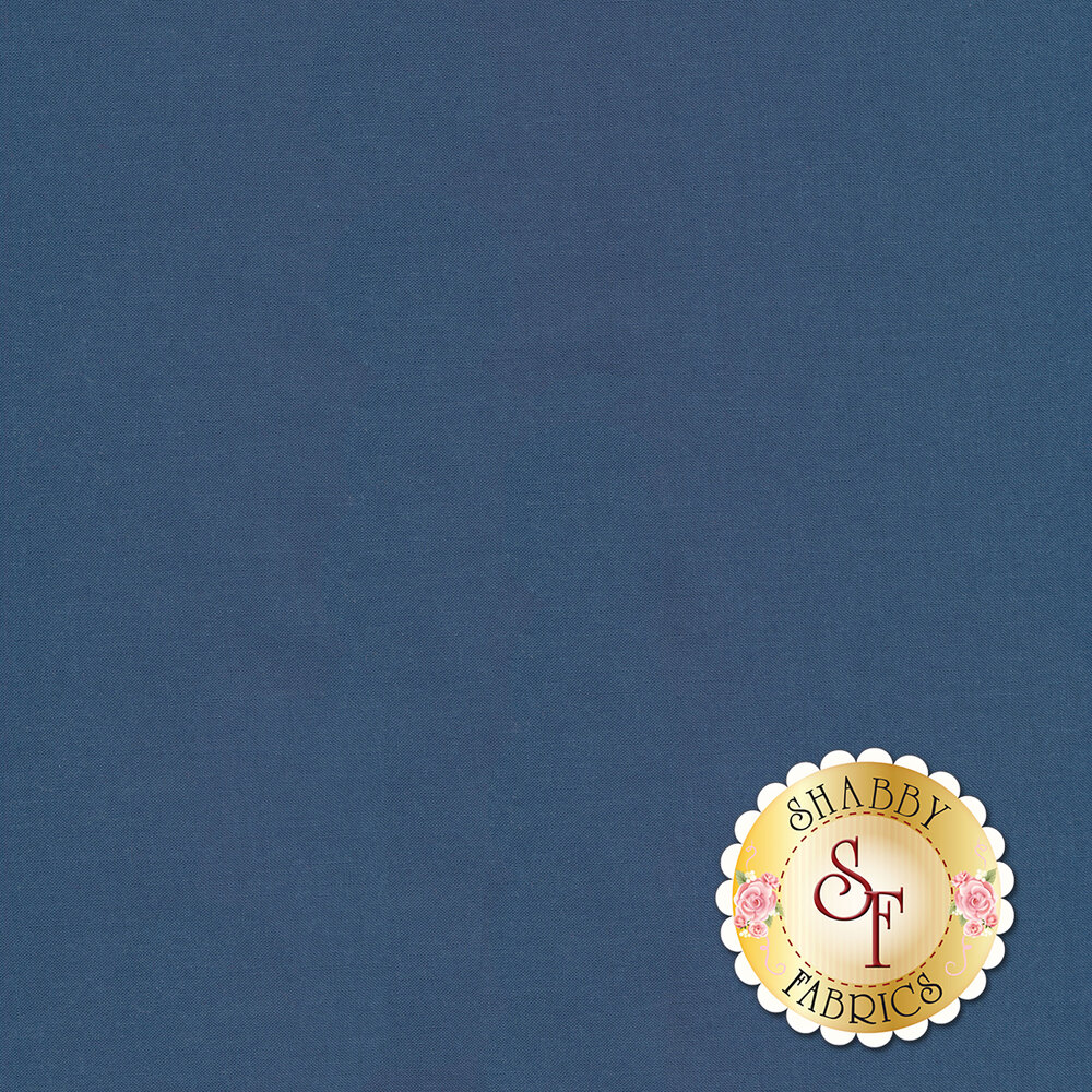 Silky Cotton Solids EESSCS-144 Blue Grey by Elite   Shabby Fabrics