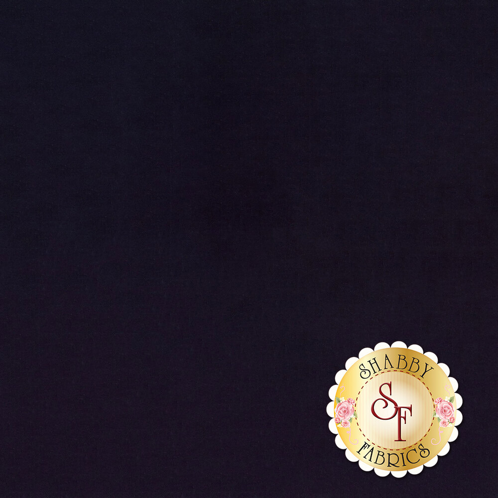 Silky Cotton Solids EESSCS-242 Navy Blue by Elite | Shabby Fabrics
