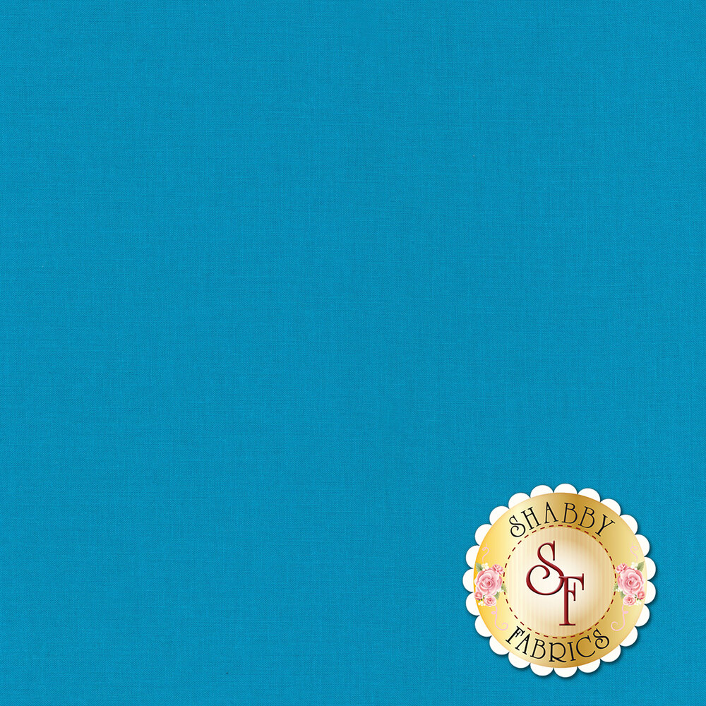 Silky Cotton Solids EESSCS-247 Turquoise by Elite | Shabby Fabrics
