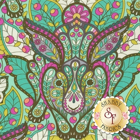 Slow & Steady PWTP084-STRA by Tula Pink for Free Spirit Fabrics