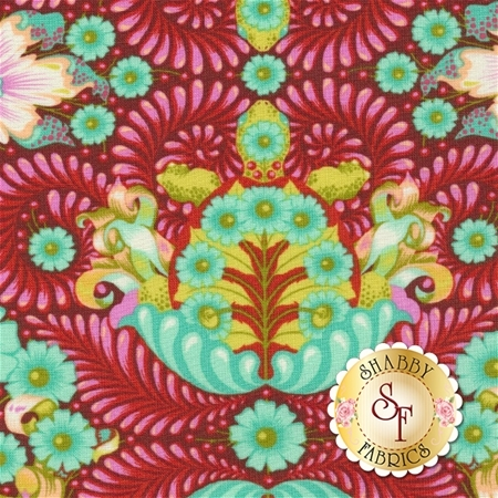 Slow & Steady PWTP085-ORG by Tula Pink for Free Spirit Fabrics