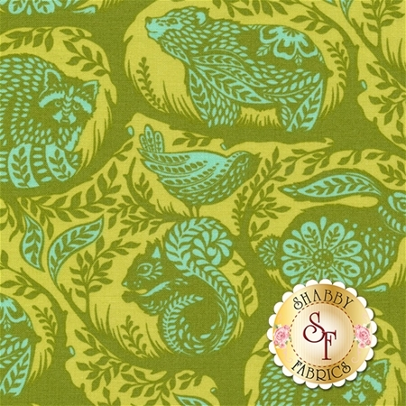 Slow & Steady PWTP087-STRA by Tula Pink for Free Spirit Fabrics