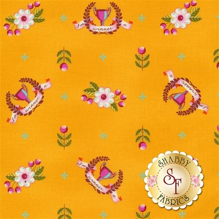 Slow & Steady PWTP089-ORG by Tula Pink for Free Spirit Fabrics