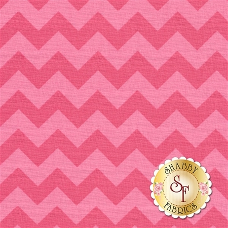 Chevron 400-71 Hot Pink by Riley Blake Designs