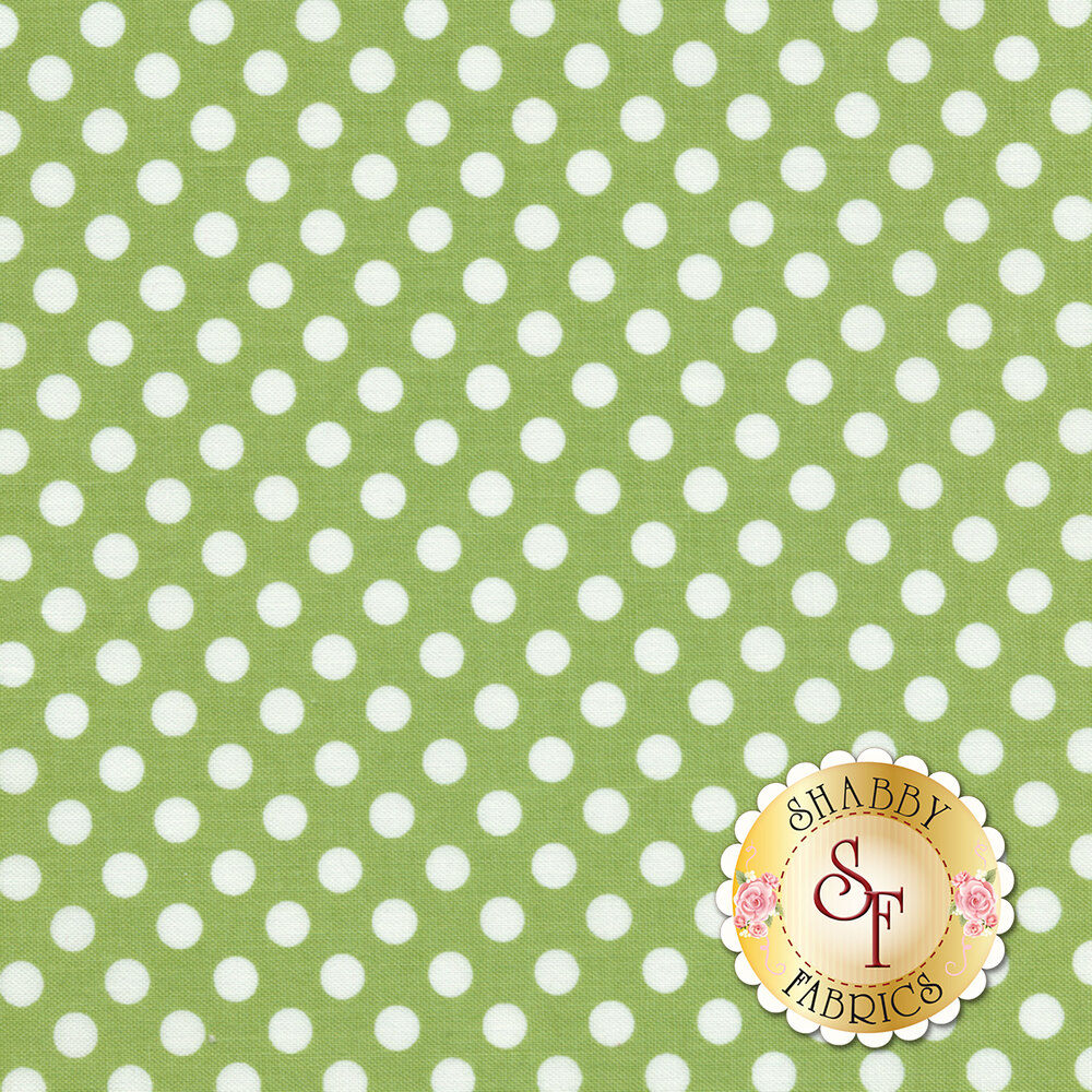 Small Dots C350-30 Green by Riley Blake Designs