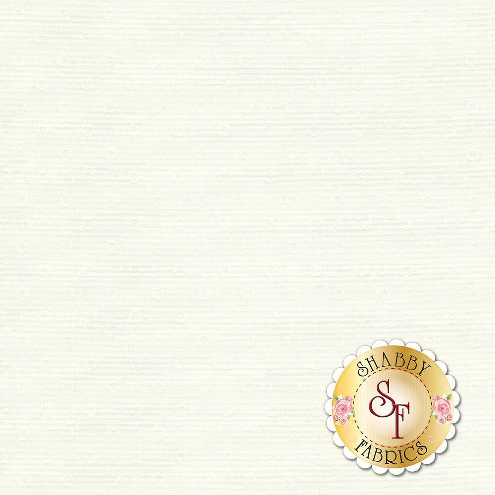 Smitten 55172-27 Little Darling Dot Cream from Moda